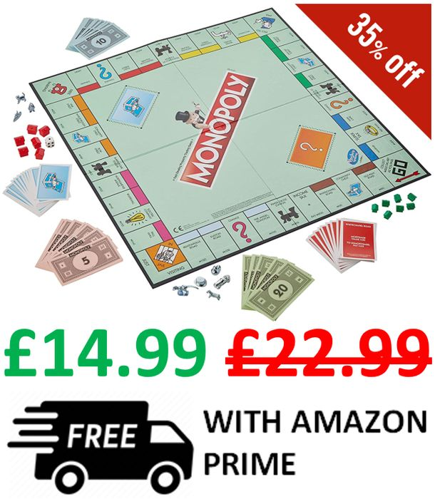 Monopoly - SAVE £8