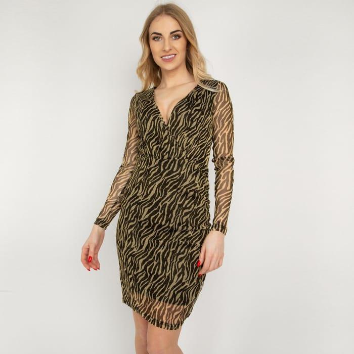 B.Young - Golden Speck Dress