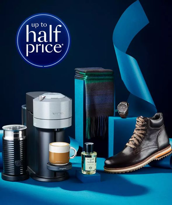 Up to Half Price GIFTS for HIM at Debenhams