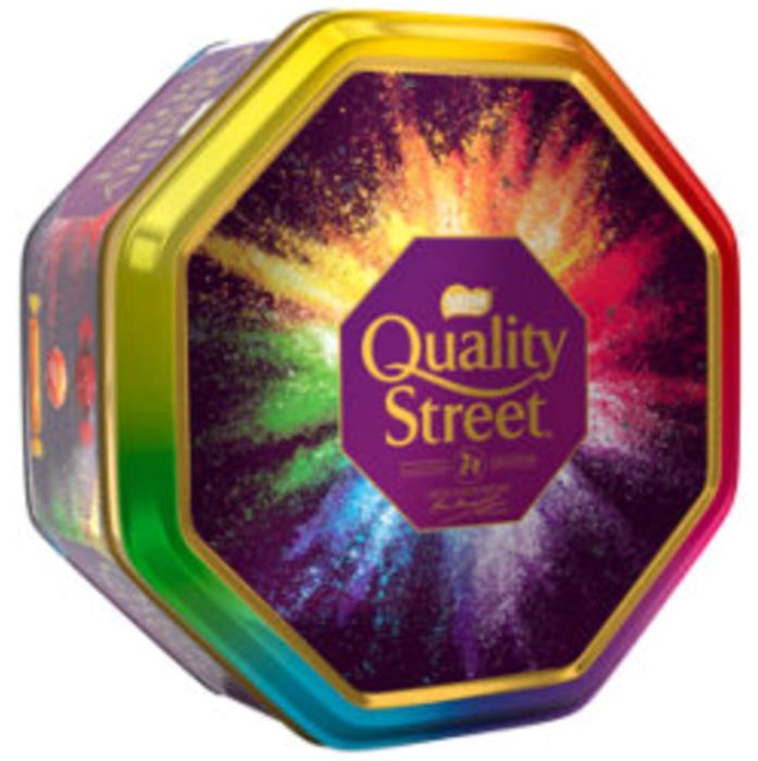 1 kg Quality Street Christmas Chocolate, Toffee and Cremes Tin