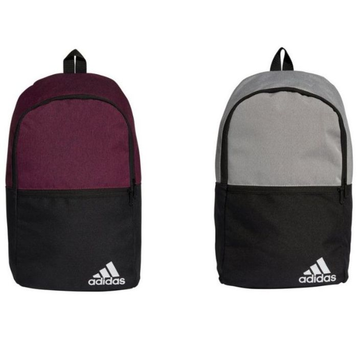 Adidas Daily II 20L Backpack - Power Berry / Orbit Grey