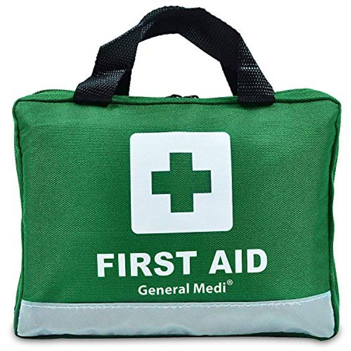 210 Piece First Aid Kit- Emergency Kit - Reflective Design