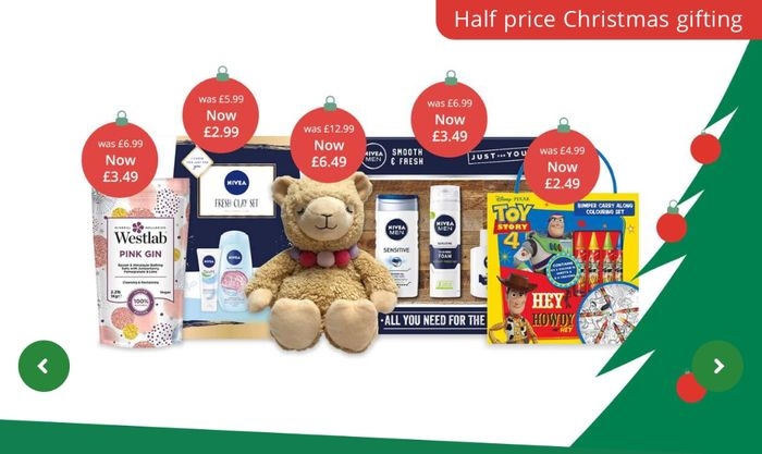 Half Price - Christmas Gifts for Everyone Price Start from 1.99