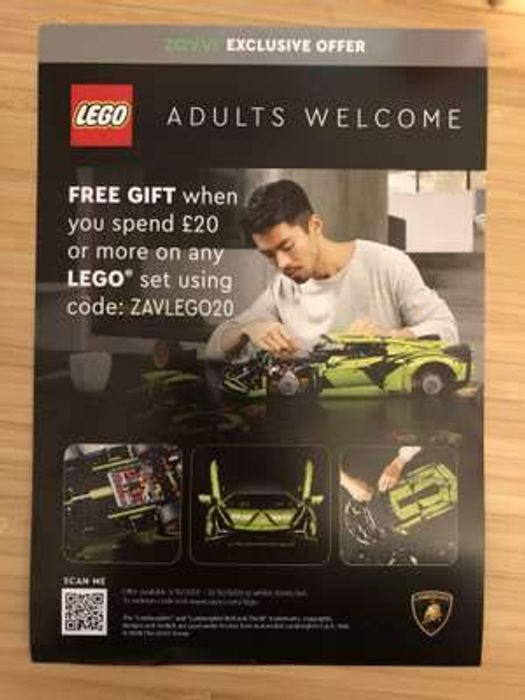 Free LEGO Gift When You Spend £20 or More on LEGO