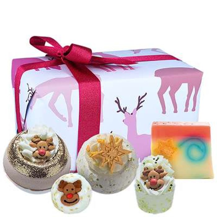Bomb Cosmetics Christmas 2020 Rudolph Nose Best Gift Pack
