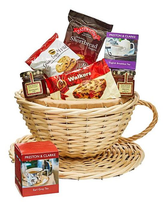 Teacup Gift Basket