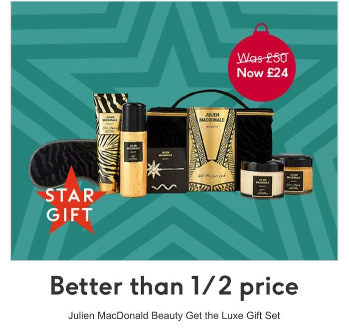 Better than 1/2 Price on Julien MacDonald Beauty Vanity Case
