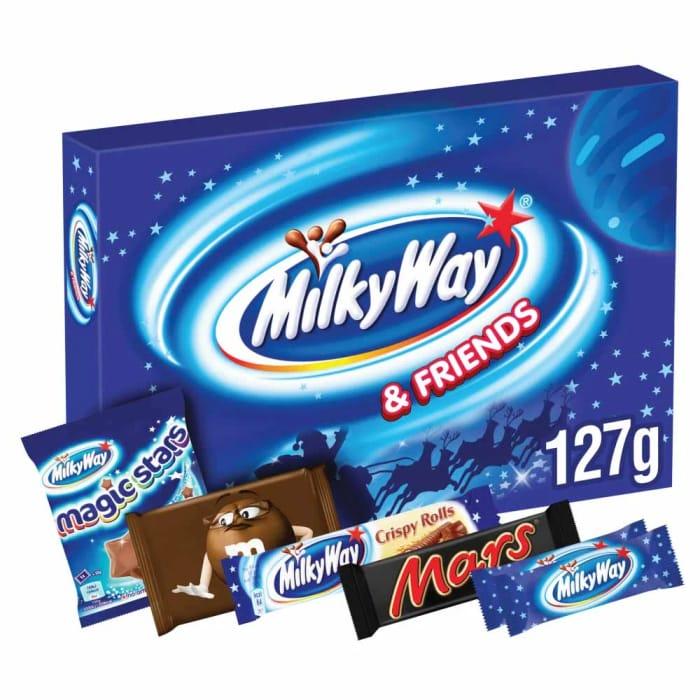 Milky Way & Friends Med Selectn Box