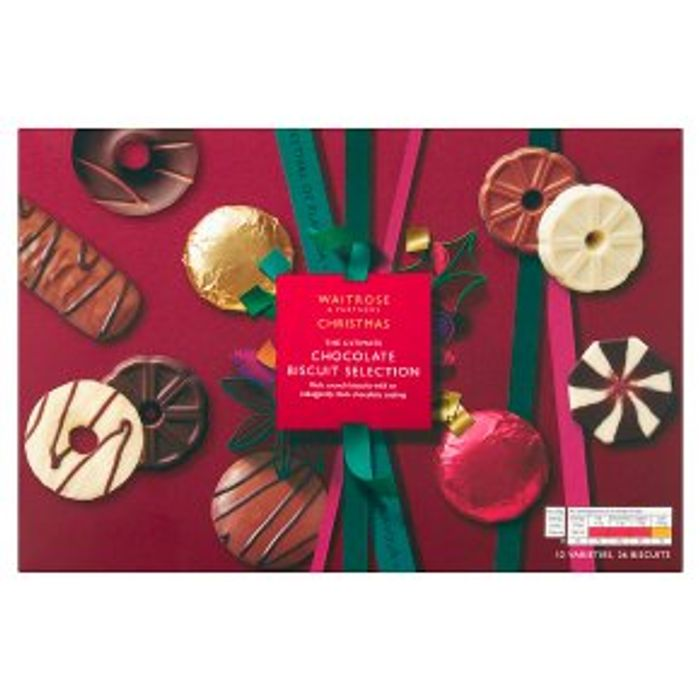 Half Price Waitrose Biscuits Collection - Treat Yourself!