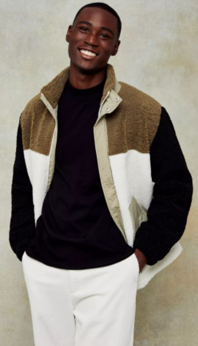 Khaki Cut and Sew Fleece