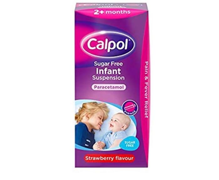 Calpol Sugar Free Infant Suspension
