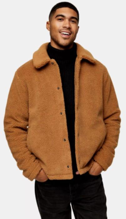 Brown Borg Coach Jacket