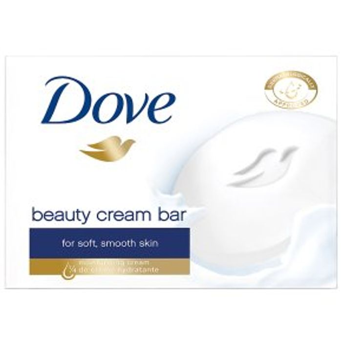 Dove Beauty Cream Bars4x100ml (other Dove products also half price!)