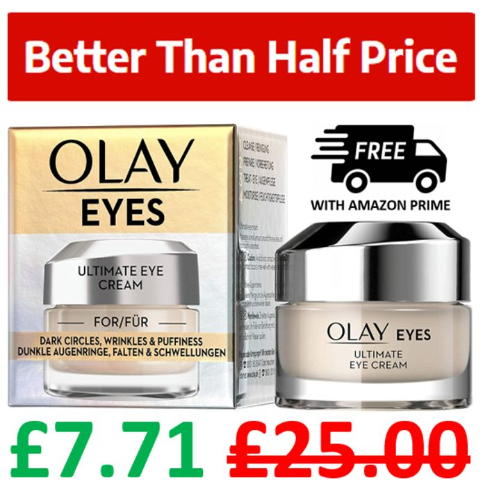 GOING VERY CHEAP! Olay Eyes Ultimate Eye Cream