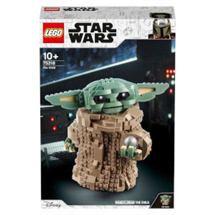 Save £10 on LEGO Star Wars: The Mandalorian the Child Building Set (75318)