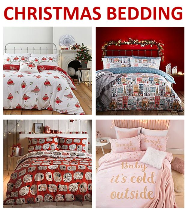 Christmas Bedding / Duvet Cover Sets - from £7 at DUNELM