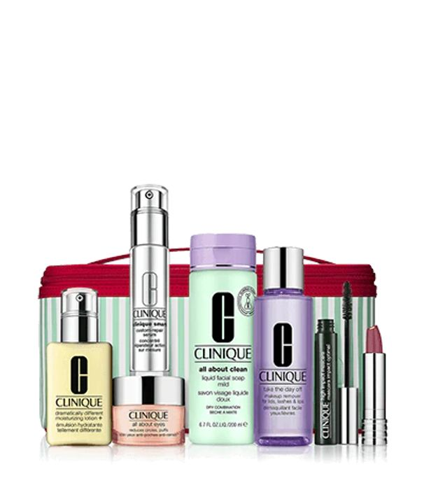 Best of Clinique Gift Set Only £55 With £40 Spend