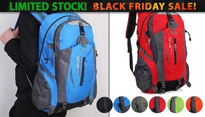 40L Travelling Backpack - 6 Colours