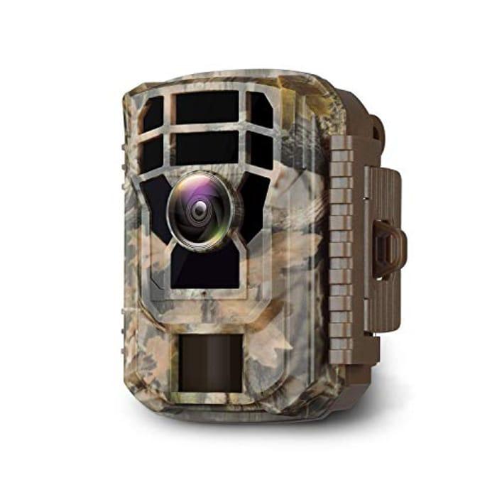 Mini Wildlife Camera 16MP 1080P HD Trail Game