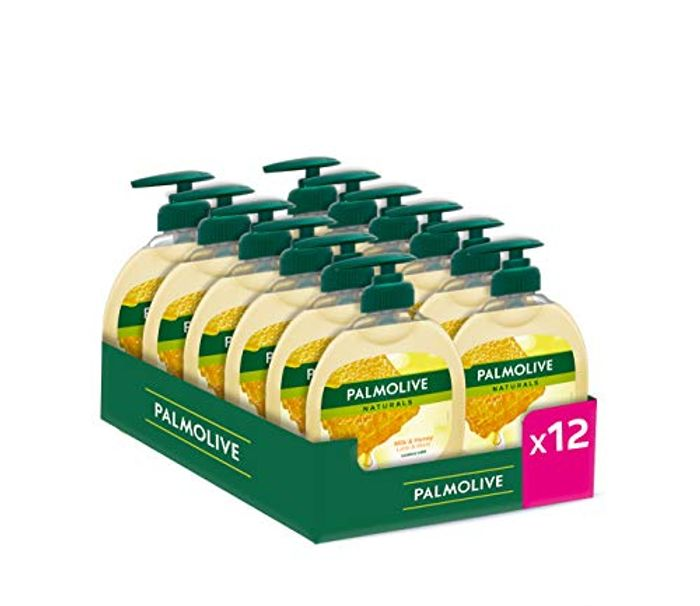 Palmolive Liquid Hand Wash Milk & Honey-12*300 Ml