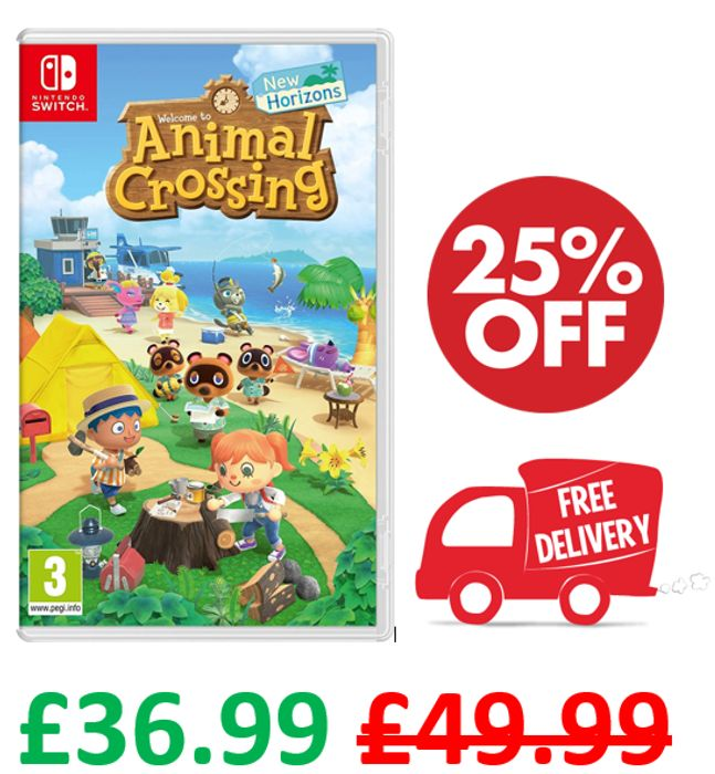 CHEAPEST PRICE! Animal Crossing: New Horizons + FREE DELIVERY (Nintendo Switch)