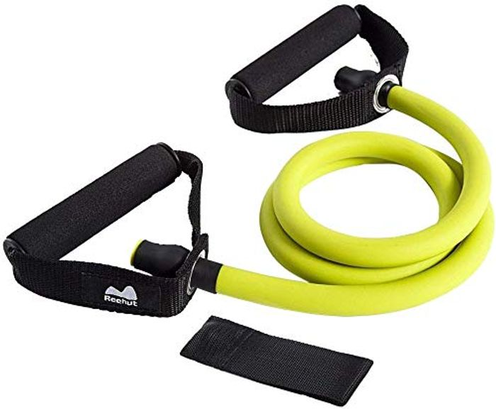 DEAL STACK - REEHUT Exercise Band Single Resistance Band + 15% Coupon