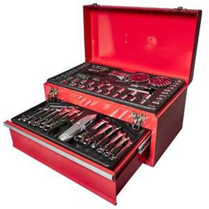 Top Tech KL-12229 Tool Box with 150 Pieces - Only £30.58!