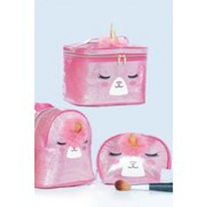 Glitter Unicorn 3-Piece Bag Set
