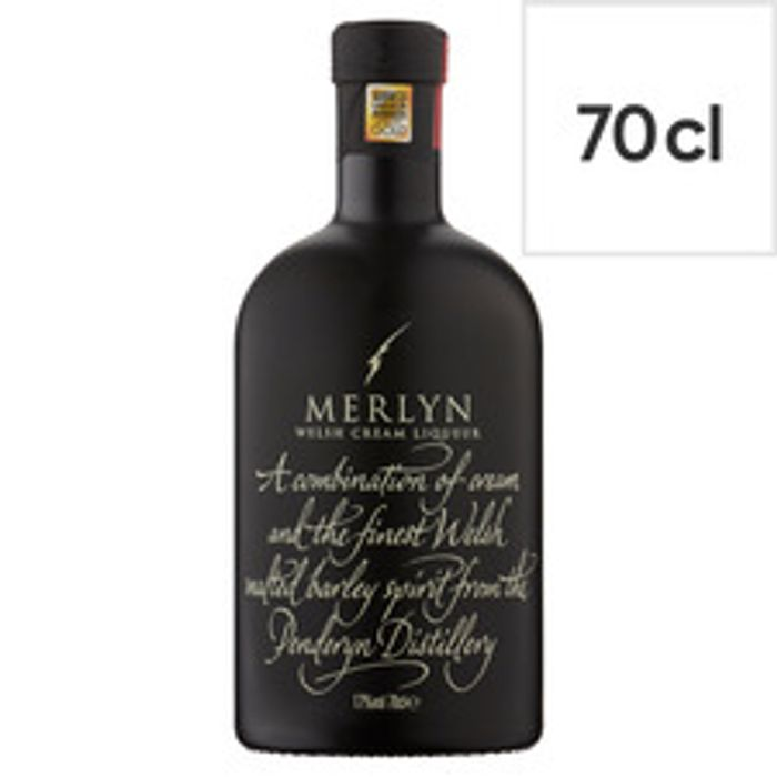 Merlyn Welsh Cream Liqueur 70Cl - Clubcard Price - Only £10!