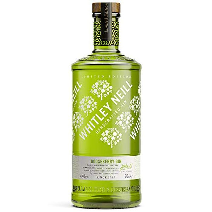 Whitley Neill Gooseberry Gin, 70 Cl Down From £26 to £18