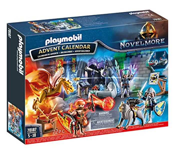 Playmobil 70187 Knights of Novelmore Advent Calendar for £9.60 Prime at Amazon