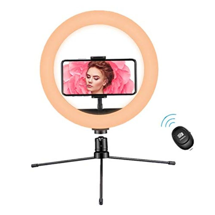 "Half Price! 10"" LED Ring Light with Tripod Stand"