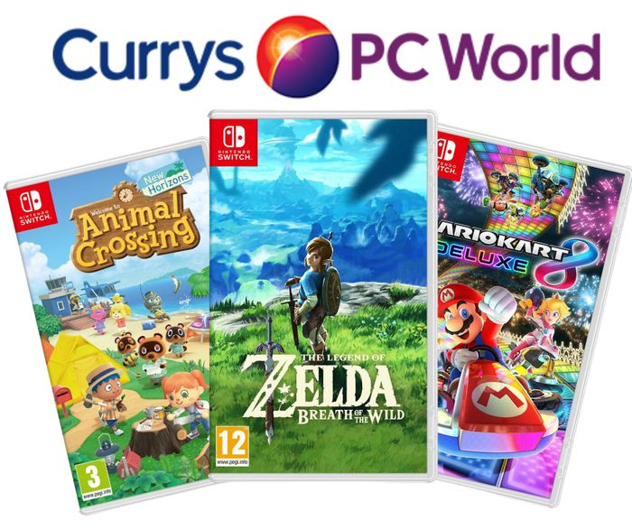 10% off 2 Selected Nintendo Switch Games
