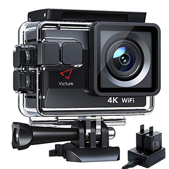Half Price! Victure AC800 Action Camera 4K 20MP WiFi