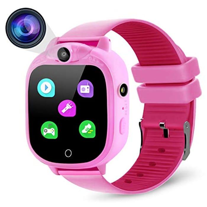 PROGRACE Kids Smart Watch Digital Camera Watch