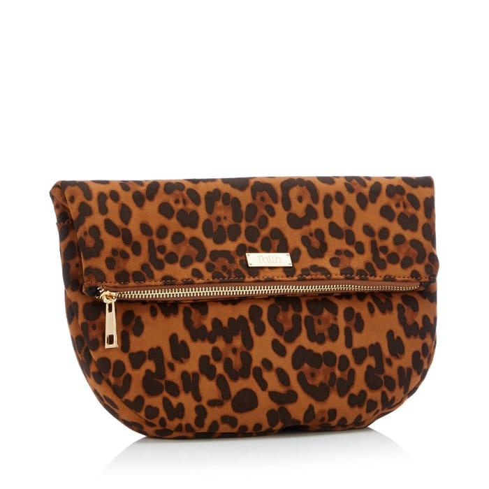 Faith - Multicoloured Leopard Print 'Pringo' Clutch Bag