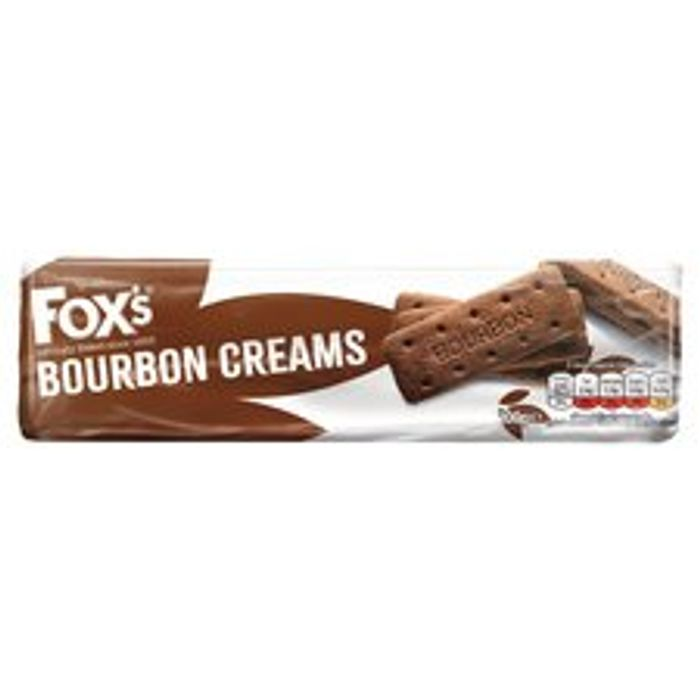 Fox's Bourbon Creams Biscuits 200G , Only 20p