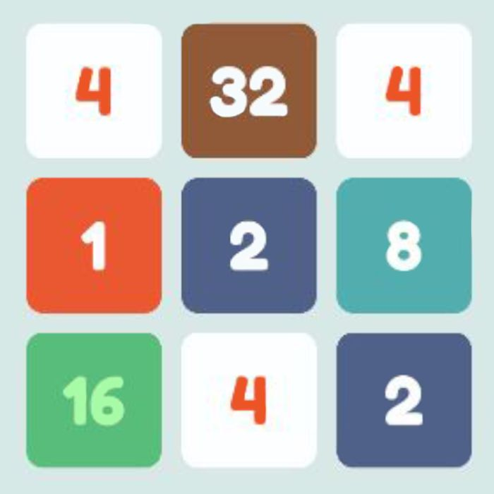 2048 Puzzle Game - Usually £2.69