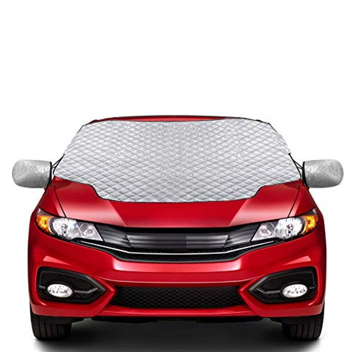 LIGHTNING DEAL - Zenoplige All Weather Magnetic Car Cover