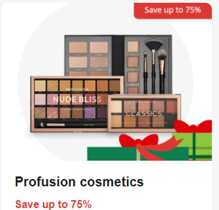 Profusion Cosmetics save up to 75%