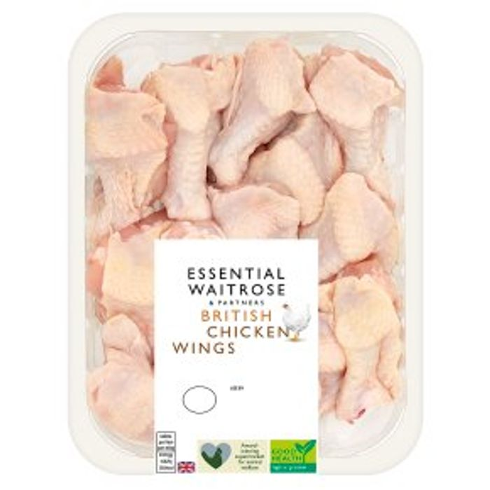 Essential British Chicken Wings 475g - Only £1!