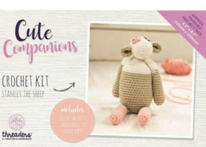 Threaders Cute Companions Crochet Kit - Stanley the Sheep