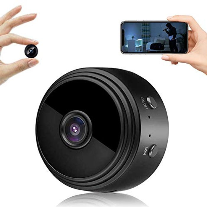 Mini Spy Wireless Video Camera - £15 off Coupon