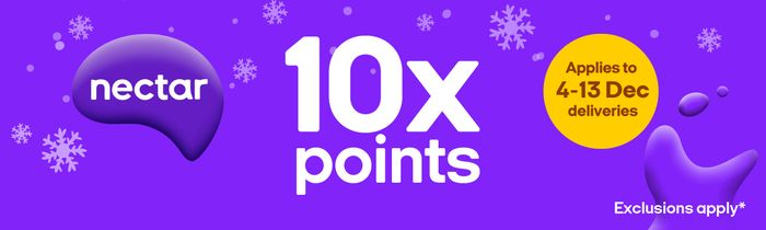 10x Nectar Points on Christmas Cupboard Staples