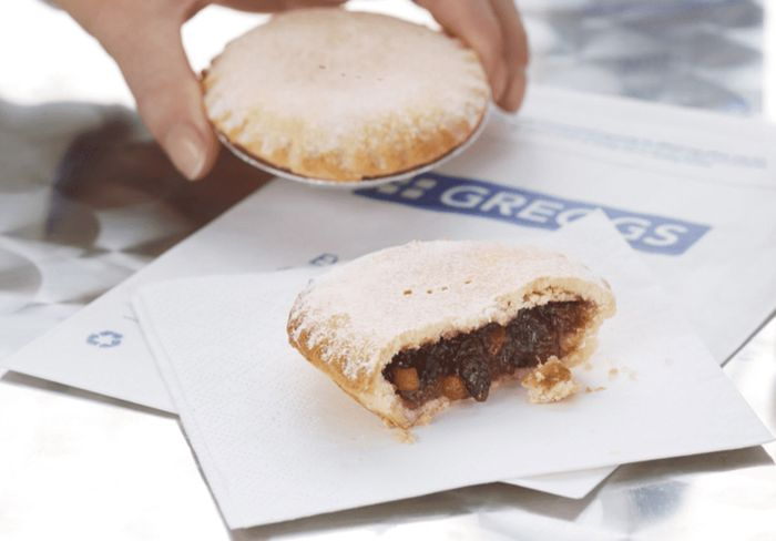 Free Greggs Sweet Mince Pie or Other Sweet Treat via Vodafone VeryMe Rewards