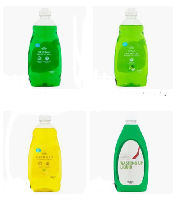 Morrison Washing up Liquid All Varieties Only 35P