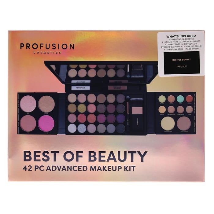 Profusion Cosmetics 42 Piece Advanced Makeup Kit