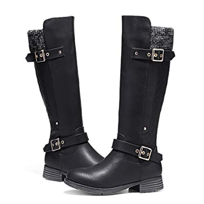 DEAL STACK - Camfosy Womens Knee High Boots + 10% Coupon