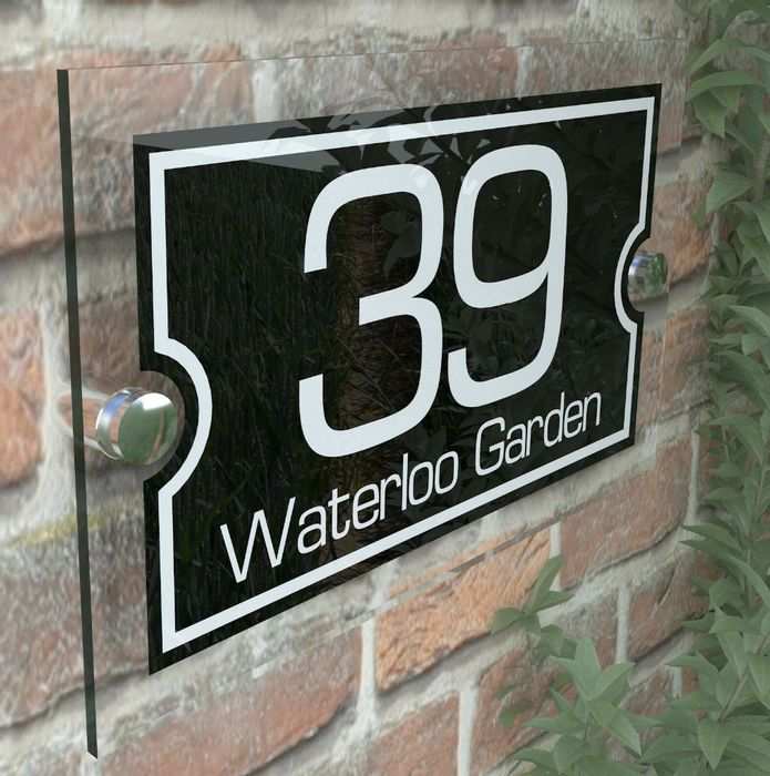 Modern House Signs - Only £5.99! with Free Delivery