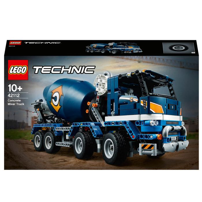 LEGO TECHNIC: CONCRETE MIXER TRUCK (42112) + Free Delivery